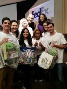 Baskets of Hope packing event